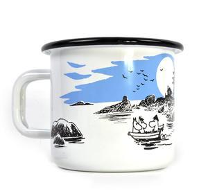 Moomin Boat Trip - Moomin Muurla Enamel Mug - 370 ml Thumbnail 1