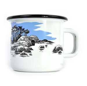 Moomin Boat Trip - Moomin Muurla Enamel Mug - 370 ml Thumbnail 2