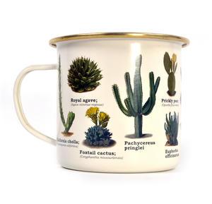 Cactus Enamel Mug Thumbnail 2