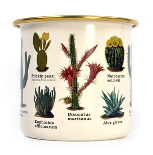 Cactus Enamel Mug Thumbnail 3