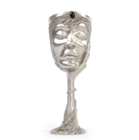 Galadriel - Lord of the Rings Goblet in Heavy Hallmarked Pewter by Tolkien Enterprises & Royal Selangor 272501
