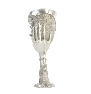 Galadriel - Lord of the Rings Goblet in Heavy Hallmarked Pewter by Tolkien Enterprises & Royal Selangor 272501 Thumbnail 3