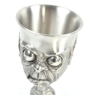 Smeagol Gollum - Lord of the Rings Goblet in Heavy Hallmarked Pewter by Tolkien Enterprises & Royal Selangor 272520 Thumbnail 4