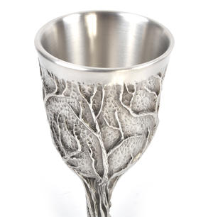 Treebeard Ent - Lord of the Rings Goblet in Heavy Hallmarked Pewter by Tolkien Enterprises & Royal Selangor 272504 Thumbnail 3