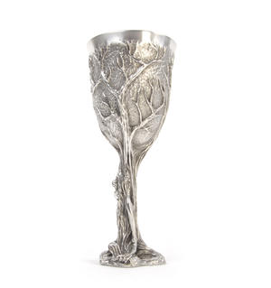 Treebeard Ent - Lord of the Rings Goblet in Heavy Hallmarked Pewter by Tolkien Enterprises & Royal Selangor 272504 Thumbnail 5