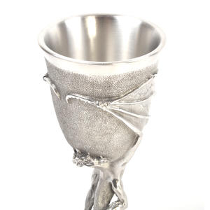 Smaug - Lord of the Rings Goblet in Heavy Hallmarked Pewter by Tolkien Enterprises & Royal Selangor 272506 Thumbnail 6