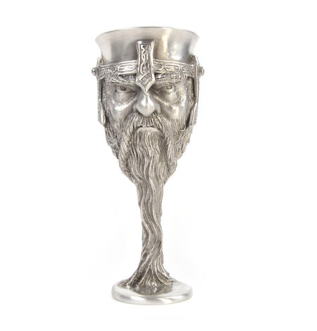 Gimli - Lord of the Rings Goblet in Heavy Hallmarked Pewter by Tolkien Enterprises & Royal Selangor 272533