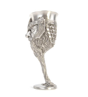 Gimli - Lord of the Rings Goblet in Heavy Hallmarked Pewter by Tolkien Enterprises & Royal Selangor 272533 Thumbnail 2
