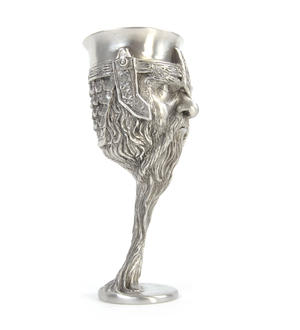 Gimli - Lord of the Rings Goblet in Heavy Hallmarked Pewter by Tolkien Enterprises & Royal Selangor 272533 Thumbnail 4