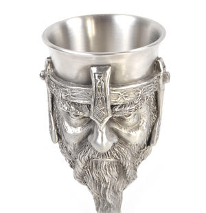 Gimli - Lord of the Rings Goblet in Heavy Hallmarked Pewter by Tolkien Enterprises & Royal Selangor 272533 Thumbnail 5