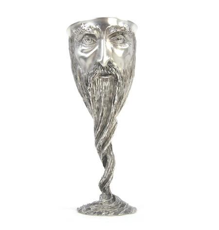 Gandalf - Lord of the Rings Goblet in Heavy Hallmarked Pewter by Tolkien Enterprises & Royal Selangor 272508