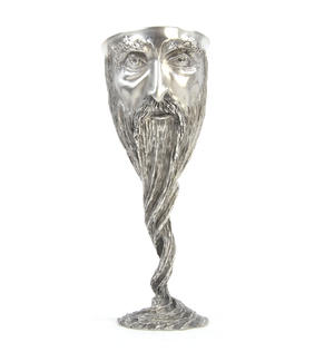 Gandalf - Lord of the Rings Goblet in Heavy Hallmarked Pewter by Tolkien Enterprises & Royal Selangor 272508 Thumbnail 1