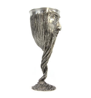Gandalf - Lord of the Rings Goblet in Heavy Hallmarked Pewter by Tolkien Enterprises & Royal Selangor 272508 Thumbnail 2