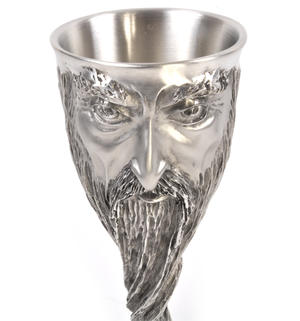 Gandalf - Lord of the Rings Goblet in Heavy Hallmarked Pewter by Tolkien Enterprises & Royal Selangor 272508 Thumbnail 4