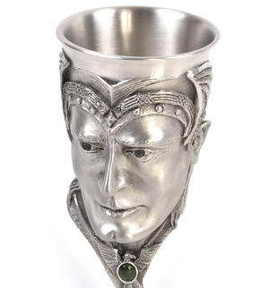 Aragorn - Lord of the Rings Goblet in Heavy Hallmarked Pewter by Tolkien Enterprises & Royal Selangor 272580 Thumbnail 4