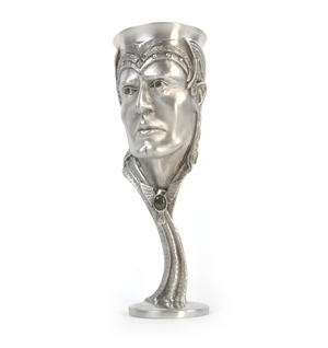 Aragorn - Lord of the Rings Goblet in Heavy Hallmarked Pewter by Tolkien Enterprises & Royal Selangor 272580 Thumbnail 6