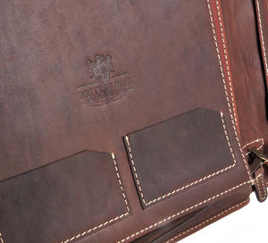 Brown Pull Up Leather Folio Case Thumbnail 5