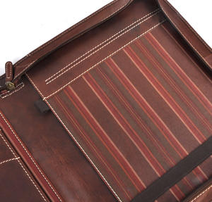 Brown Pull Up Leather Folio Case Thumbnail 6