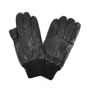Trigger Finger Black Leather Shooting Gloves - Large Thumbnail 3