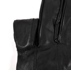 Trigger Finger Black Leather Shooting Gloves - Large Thumbnail 4