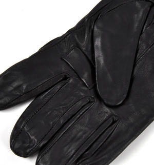 Trigger Finger Black Leather Shooting Gloves - Large Thumbnail 6