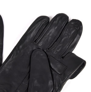 Trigger Finger Black Leather Shooting Gloves - Large Thumbnail 7