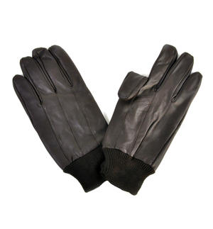 Trigger Finger Brown Leather Shooting Gloves - Large Thumbnail 2