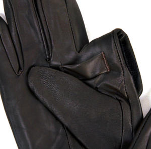 Trigger Finger Brown Leather Shooting Gloves - Large Thumbnail 3