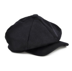 Blue 6 Panel News Boy / Baker Boy Wool Cap - Large Peaky Blinders