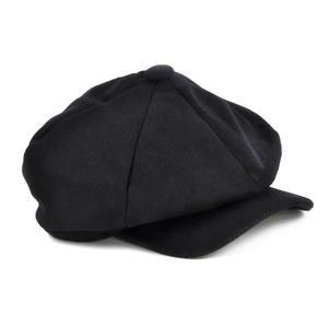 Blue 6 Panel News Boy / Baker Boy Wool Cap - Large Peaky Blinders Thumbnail 1
