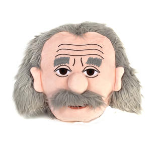 Albert Einstein Plush Cushion / Pillow by The Unemployed Philosophers Guild