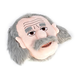 Albert Einstein Plush Cushion / Pillow by The Unemployed Philosophers Guild Thumbnail 2