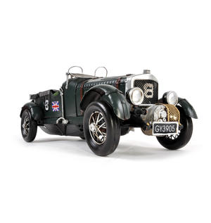 4.5 Litre Blower Bentley Tin Plate Model