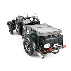 4.5 Litre Blower Bentley Tin Plate Model Thumbnail 3