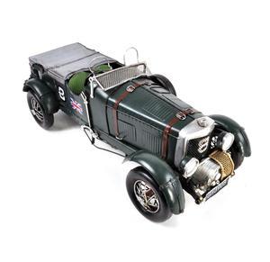 4.5 Litre Blower Bentley Tin Plate Model Thumbnail 5