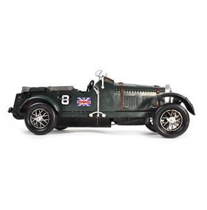 4.5 Litre Blower Bentley Tin Plate Model Thumbnail 6