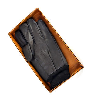 Trigger Finger Brown Leather Shooting Gloves - Extra Large Thumbnail 7
