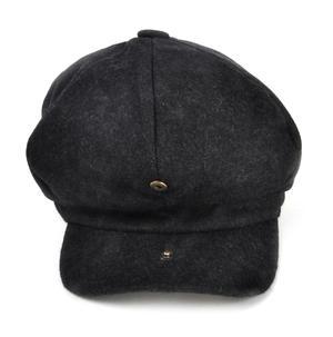 Grey 6 Panel News Boy / Baker Boy Wool Cap - Medium Peaky Blinders Thumbnail 2