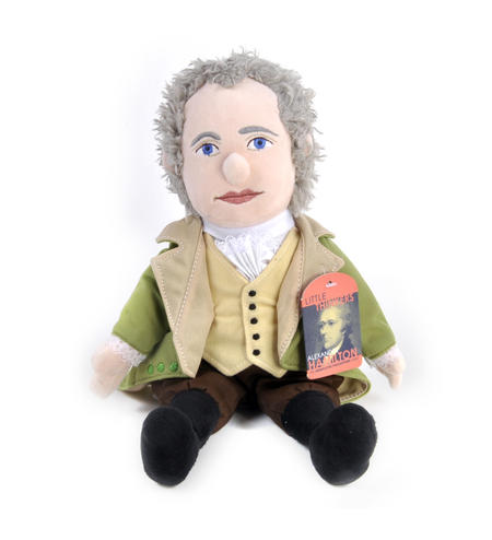 Alexander Hamilton Soft Toy - Little Thinkers Doll