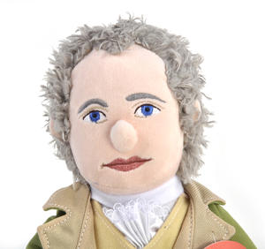 Alexander Hamilton Soft Toy - Little Thinkers Doll Thumbnail 2