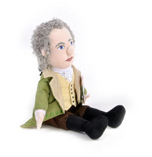 Alexander Hamilton Soft Toy - Little Thinkers Doll Thumbnail 3