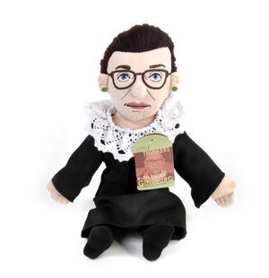 Ruth Bader Ginsburg Soft Toy - Little Thinkers Doll
