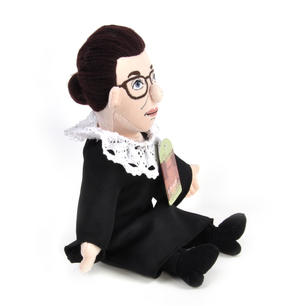 Ruth Bader Ginsburg Soft Toy - Little Thinkers Doll Thumbnail 2