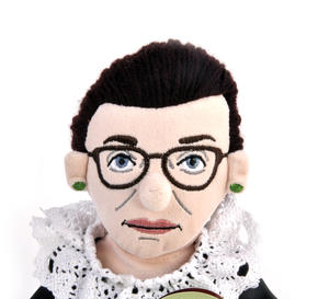 Ruth Bader Ginsburg Soft Toy - Little Thinkers Doll Thumbnail 3