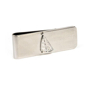 Yacht Money Clip - Rhodium Thumbnail 3