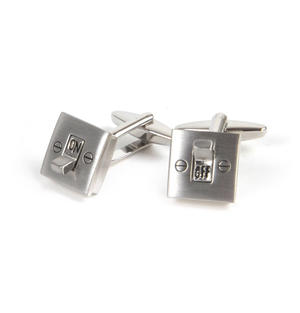 Cufflinks - On / Off Switches - Electrician Thumbnail 3