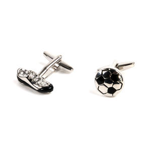 Cufflinks - Football and Football Boot - Footballer Thumbnail 4