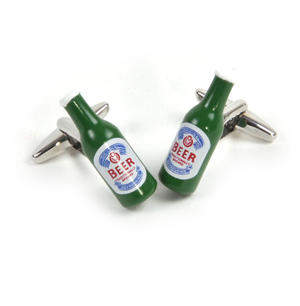 Cufflinks - Beer Bottles - Microbrewer / Barman Thumbnail 1