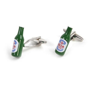 Cufflinks - Beer Bottles - Microbrewer / Barman Thumbnail 2