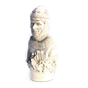 Robert the Bruce Statuette - Famous Faces Collection Plaster Bust Thumbnail 2